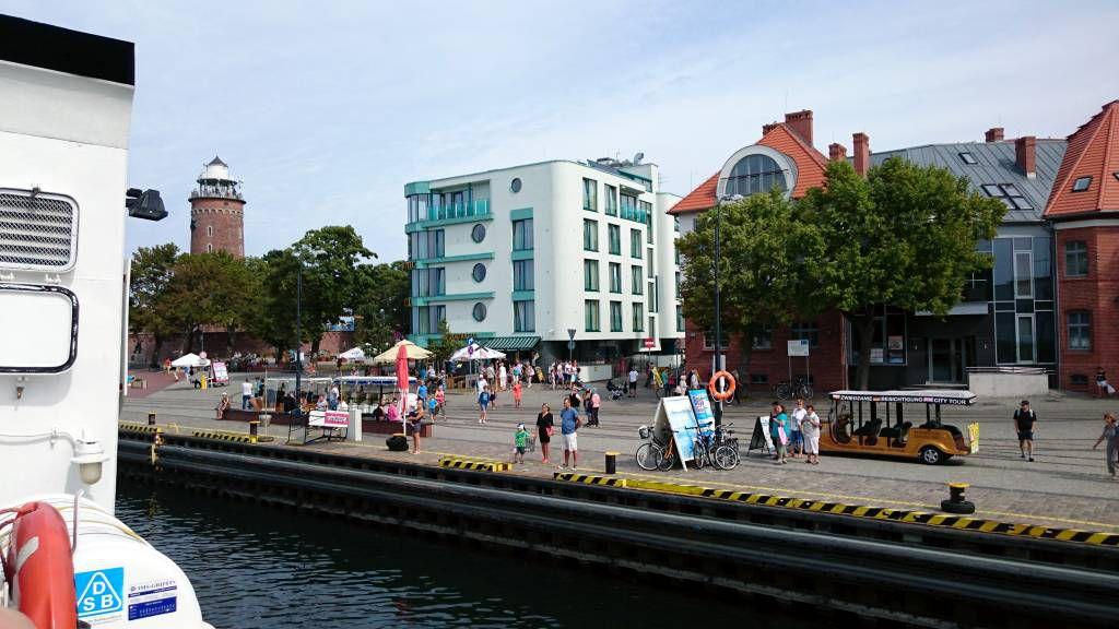 Kolberg (Kołobrzeg), Hafenbereich