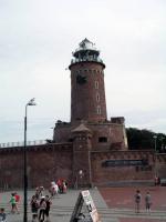 Kolberg (Kołobrzeg), Leuchtturm mit Bastion