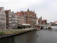 Danzig (Gdańsk), Mottlau mit Krantor
