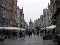 Danzig (Gdańsk), Lange Straße mit Goldenem Tor