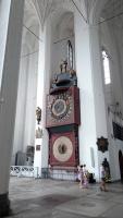 Danzig (Gdańsk), Marienkirche, Astronomische Uhr