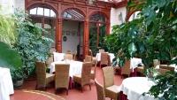 Streckenthin / Schwessin (Strzekęcino / Świeszyno), Hotel Bernsteinpalast, Cafeteria