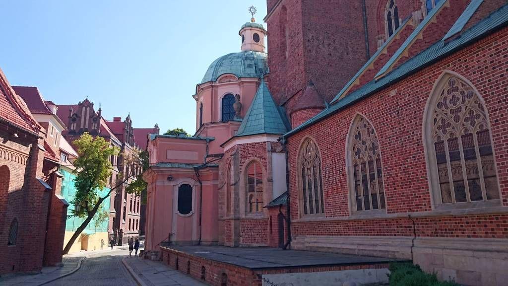 Breslau, Wrocław, Dominsel, St. Ägidius Kirche
