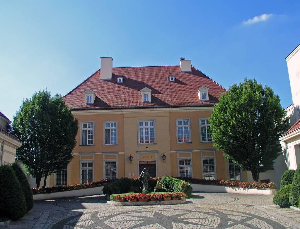 Breslau, Wrocław, Dominsel, Fürstbischöfliche Residenz