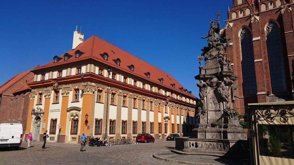 Breslau, Wrocław, Dominsel, Pastoralzentrum der Erzdiözese Breslau