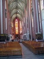 """Breslau, Wrocław, Sandinsel, St. Maria auf dem Sande, """"Sandkirche"""""""