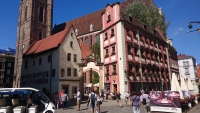 """Breslau, Wrocław, Marktplatz """"Großer Ring"""", """"Hänsel und Gretel"""""""