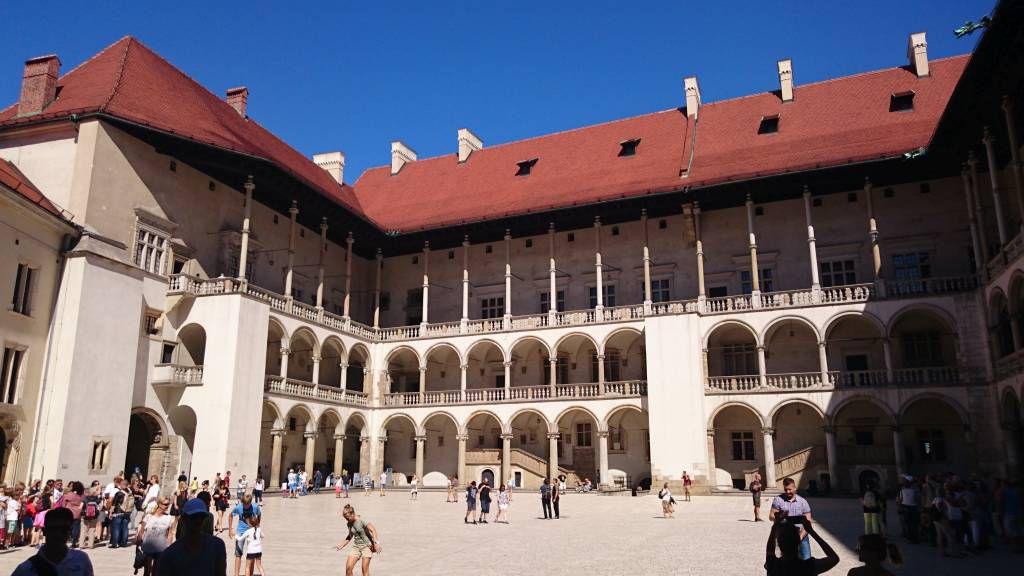 Krakau, Kraków, Wawel Höhe mit Schloss und Kathedrale