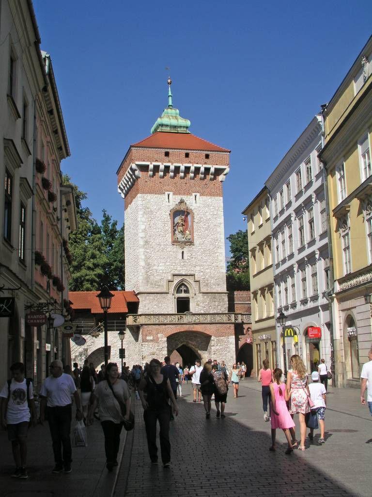 Krakau, Kraków, Florianstor