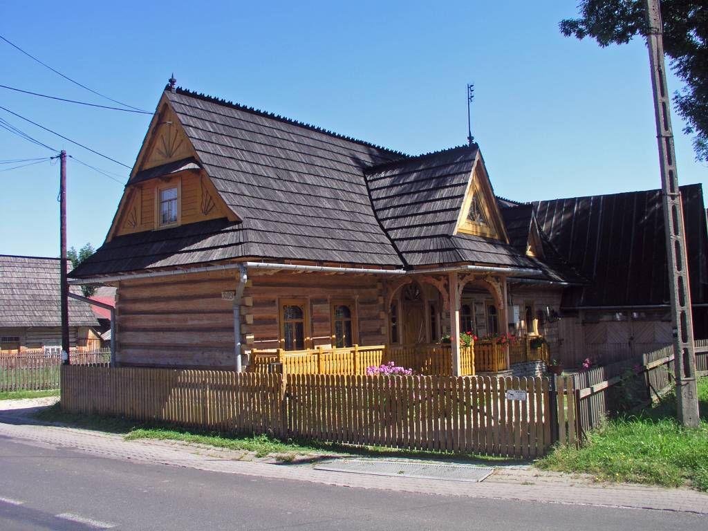 Chochołów, ein typisches Goralendorf