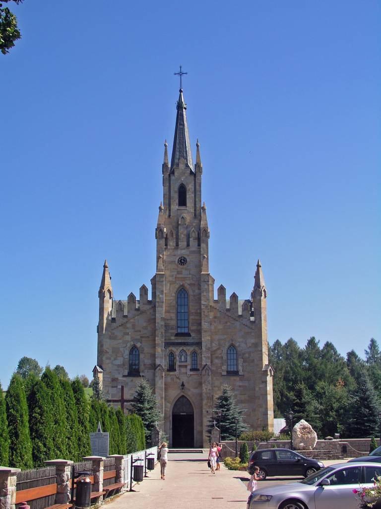 Chochołów, ein typisches Goralendorf, Kirche