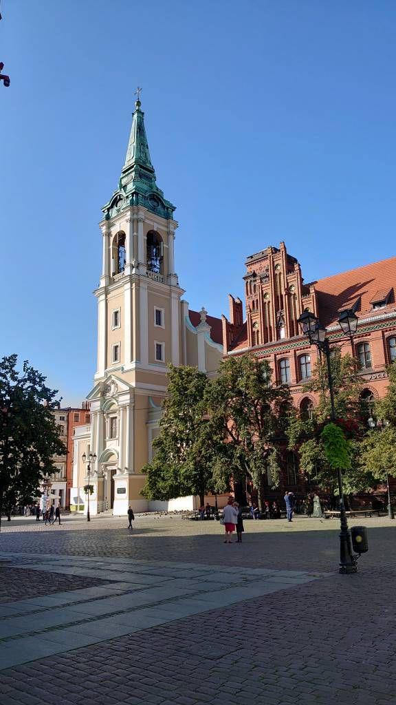 Toruń, Marktplatz, Gebäude