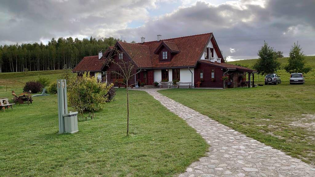 Zyzdrojowy Piecek, Hof der Stiftung Eulalia