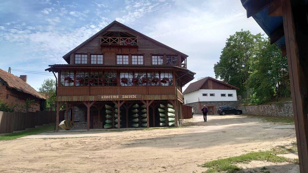 Krutyń, Kruttinnen, Restaurant Karczma Zacisze