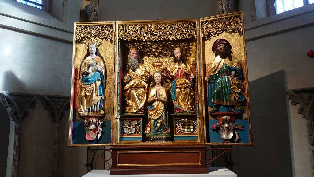 Malbork, Marienburg, Altar
