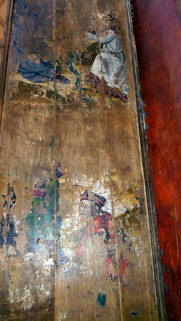 Malbork, Marienburg, Rückseite Altar