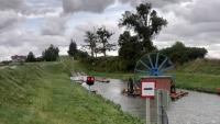 Kanał Elbląski, Oberländischer Kanal, Schiffahrt von kurz vor Buchenwalde (  Buczyniec ) bis Jelonki (Hirschfeld)