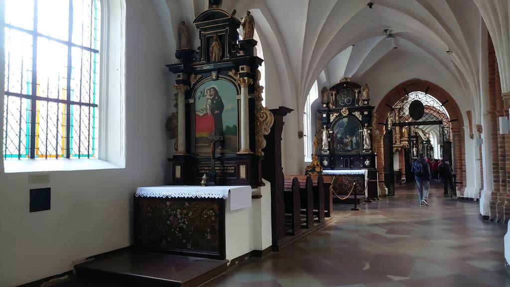 Gdańsk Oliwa, Danzig Oliva, Dom, Seitenaltäre