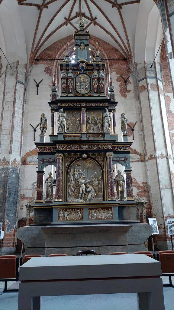 Gdańsk, Danzig, Johanneskirche, Altar