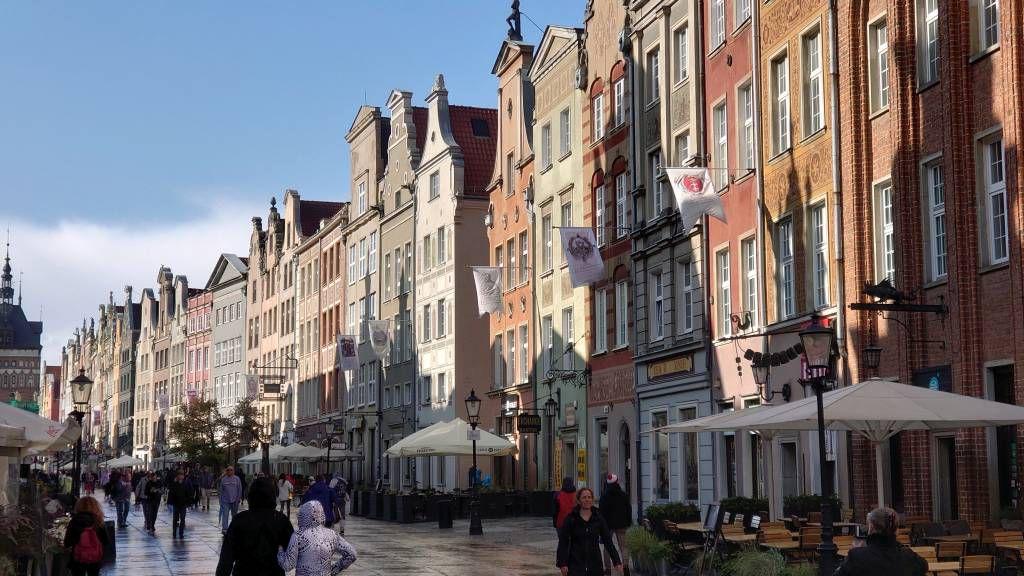 Gdańsk, Danzig, Lange Gasse
