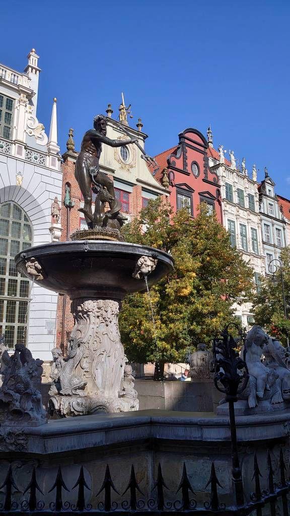 Gdańsk, Danzig, Neptunbrunnen