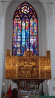 Gdańsk, Danzig, Marienkirche, Altar