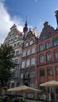 Gdańsk, Danzig, Häuser in der Frauengasse