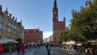 Gdańsk, Danzig, Langer Markt mit Rathaus