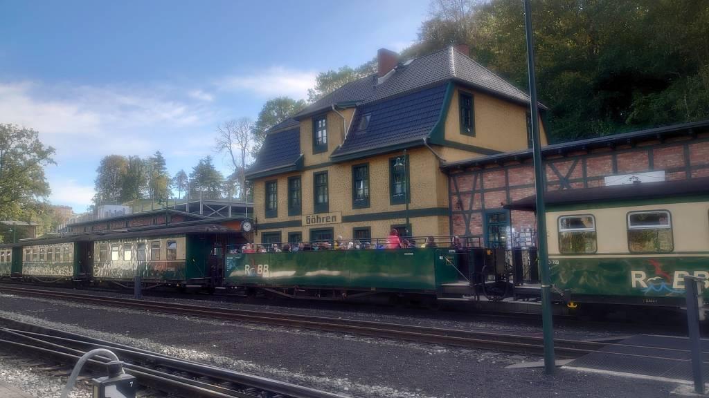Rügen, Göhren, Bahnhof