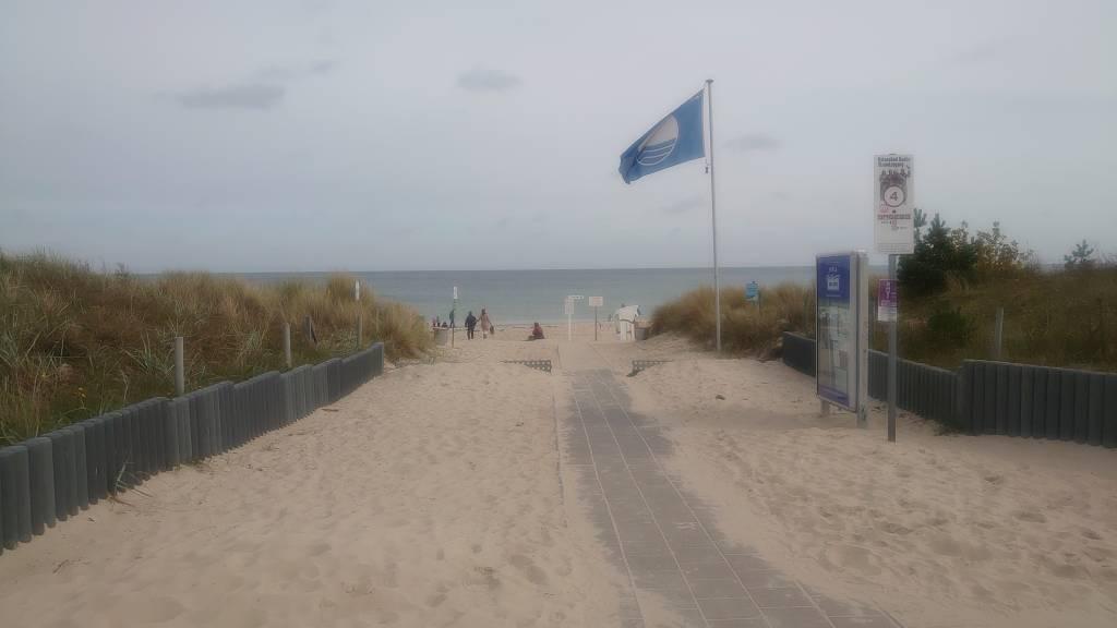Rügen, Baabe, Weg zum Strand