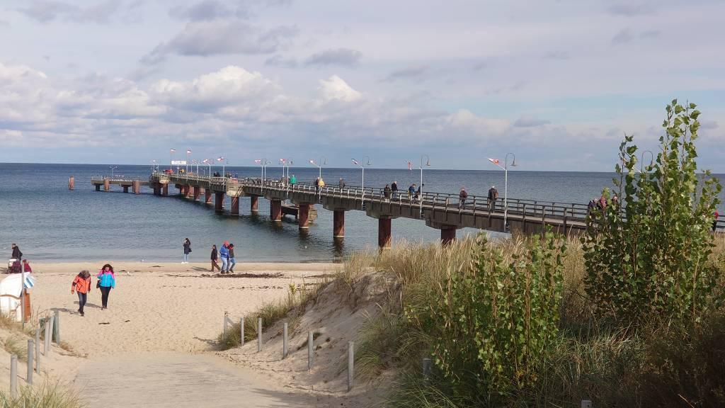 Rügen, Göhren, Seebrücke