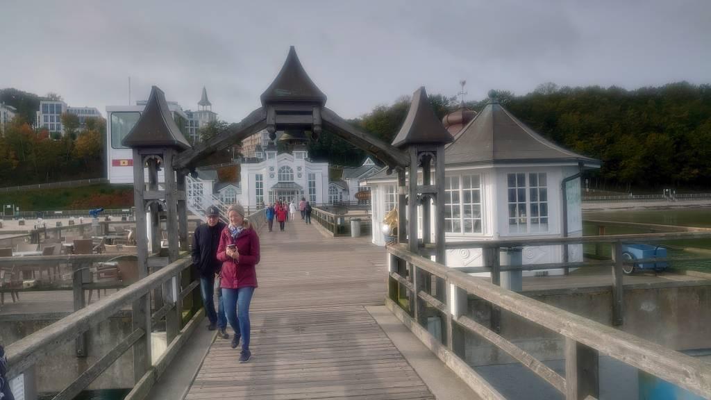 Rügen, Sellin, Seebrücke