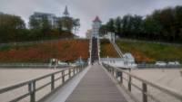 Rügen, Sellin, Weg zur Seebrücke