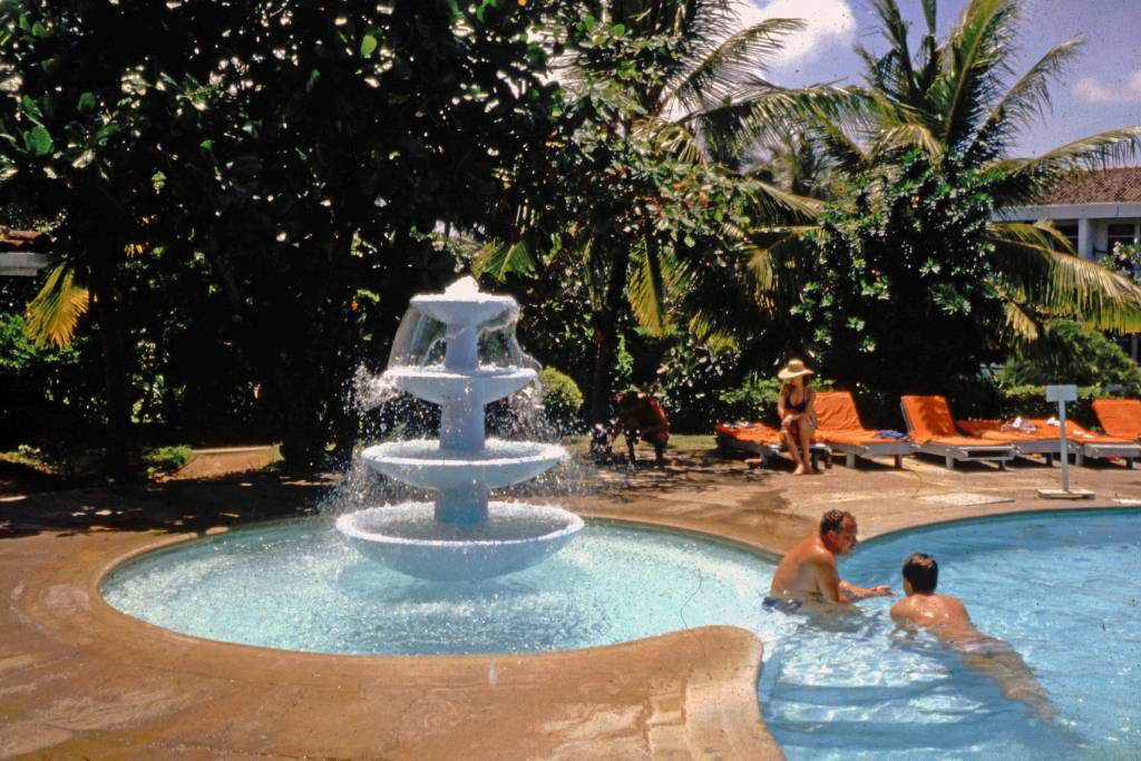 Beruwala, Hotel Swanee, Pool