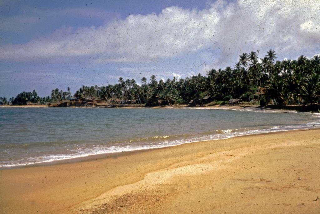Beruwala, Hotel Swanee, Strand