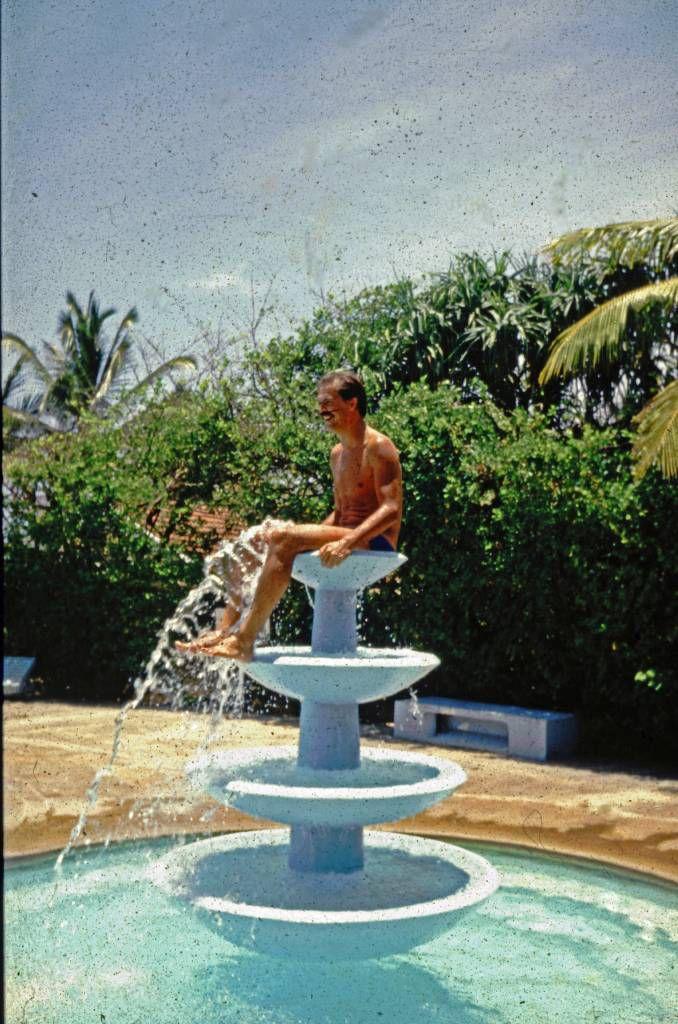 Beruwala, Hotel Swanee, Poolbrunnen