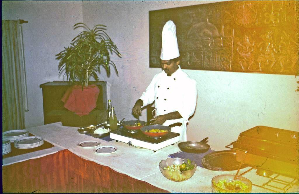 Beruwala, Hotel Swanee, Frühstück