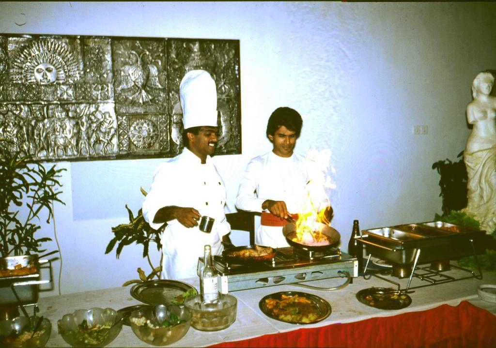 Beruwala, Hotel Swanee, Essenszubereitung