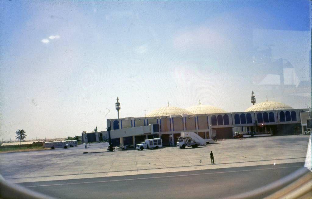 Sharja, Flughafen, Rückflug