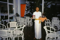 Beruwala, Hotel Swanee, Kellner