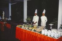 Beruwala, Hotel Swanee, Abendbuffet