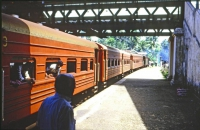 Altuthgama, Bahnhof, Zug