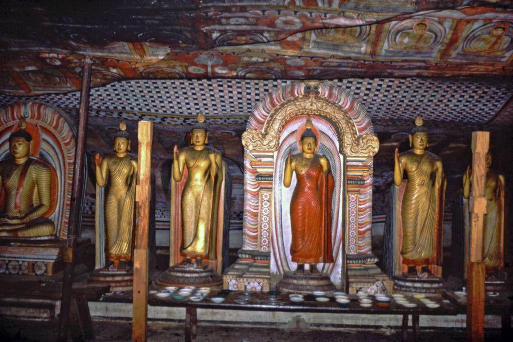 Dambulla, Höhlentempel