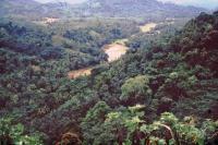 Landschaft vor Kandy