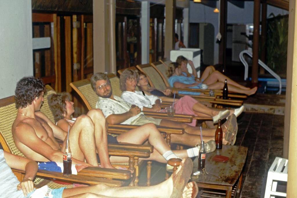 Hikkaduwa, Sunils Beach Hotel, Abendunterhaltung
