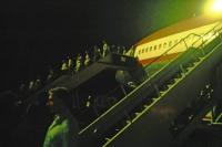 Landung in Colombo