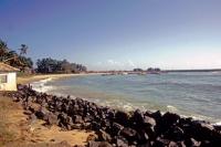 Hikkaduwa, nördlich am Hafen