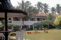 Hikkaduwa, Sunils Beach Hotel, Garten