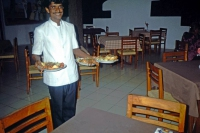Hikkaduwa, Sunils Beach Hotel, Abendessen (Lobster)