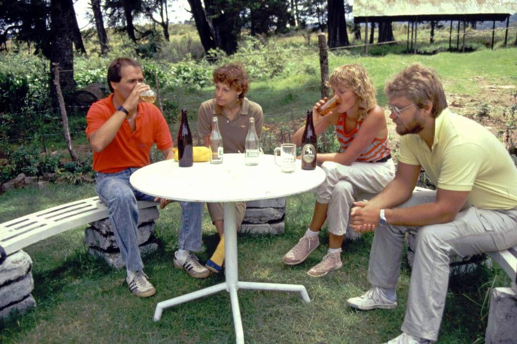 Im jetzigen Nationalpark Horton Plains, Pause im ehemaligen Guesthouse und der jetzigen Horton Plains Cafeteria